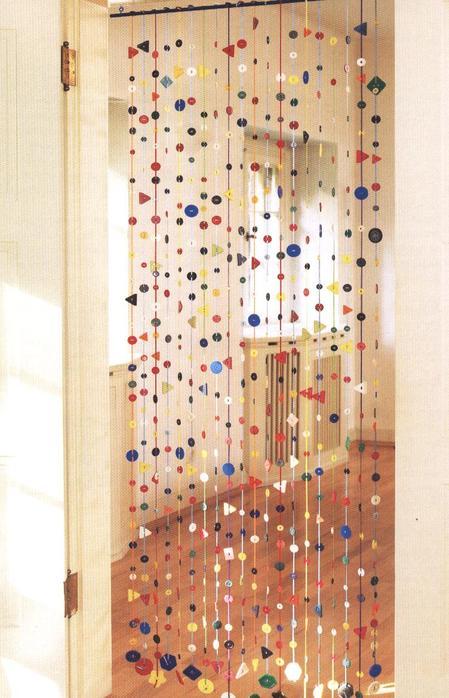 Как сделать занавеску для двери своими руками