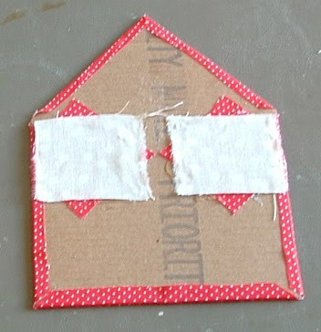 Как сделать домик на картоне