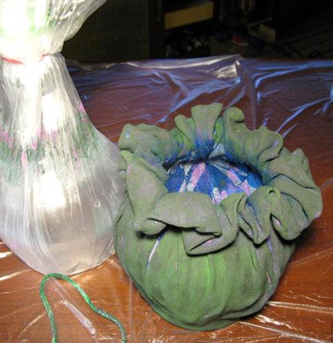 Садовая ваза своими руками мастер класс 14