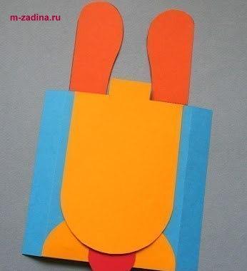Веселая открытка своими руками с элементами улыбок