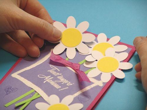 Как сделать красивые открытки для мамы